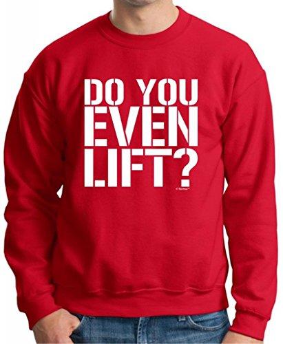 Do You Even Lift? Premium Crewneck Sweatshirt 2Xl Deep Red