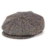 キャスケット ツイード ジェームスロック 八方 ハンチング クラシック james lock ウール 秋冬 帽子 Muirfield マルチカラー(サイズ:57(約56cm))