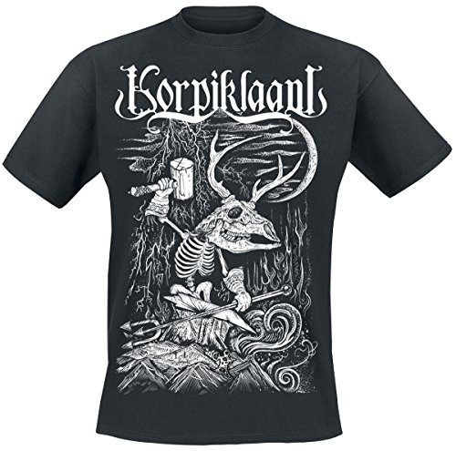 Korpiklaani Blacksmith T-Shirt nero XXL