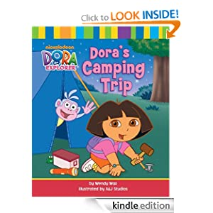 Dora's Camping Trip (Dora the Explorer) Wendy Wax