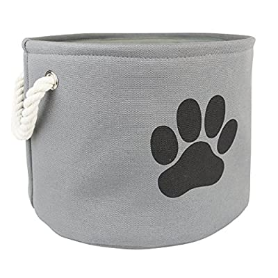DII Bone Dry Pet Toy and Accessory Storage Basket for Home Décor & Everyday Use