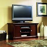 Sauder Palladia Panel TV Stand, Select Cherry Finish
