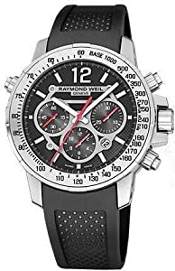 Raymond Weil Nabucco Leather Chronograph Automatic Mens Watch 7800-STC-05207