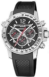 Raymond Weil Nabucco Leather Chronograph Automatic Mens Watch 7800-STC-05207
