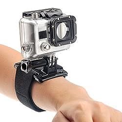 ZHOPIX Velcro ARM Wrist Strap Band Grip mount for GOPRO SJCAM XIAOMI YI