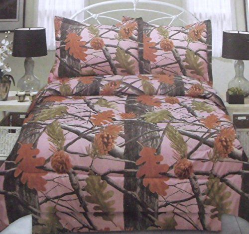Pink Camo Bedding Twin 5171 front