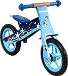 Nicko Children's Wooden Balance Bike...