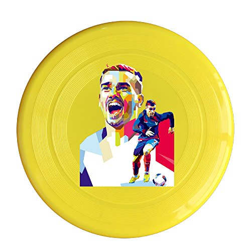 [Candi Pets Antoine Soccer Griezmann Image Puppy Frisbee Flying Saucer Flying Disc Yellow Size One] (National Costumes Of Columbia For Men)