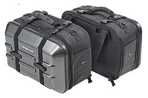タナックス(TANAX)モトフィズ ツアーシェルケース /カーボン MFK-208 容量40ℓ 片側20ℓ
