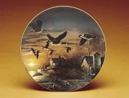 Sundown by Terry Redlin 8.25 inch Decorative Collector Plate