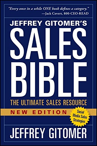 The Sales Bible, New Edition: The Ultimate Sales Resource ISBN-13 9781118985816