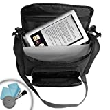 Protective Nook Carrying Case & Travel Bag for Barnes & Noble Nook HD+ , Nook Simple Touch with GlowLight , Nook Color eBook Reader , Nook Tablet and Accessories ** Includes Accessory Bag and Cleaning Cloth ** ~ Accessory Genie