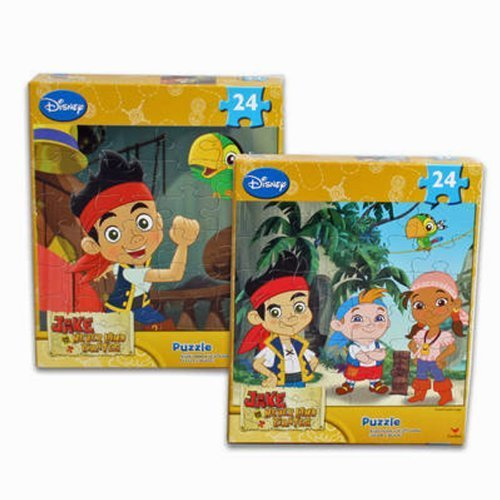 2-Pack Disney Jake and the Neverland Pirates 24-Piece Puzzles