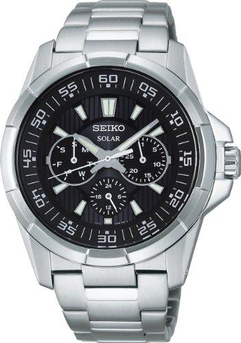 SEIKO criteria for solar black SDBV001 men's watch