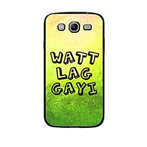 Vibhar printed case back cover for Samsung Galaxy Mega 5.8 Watt