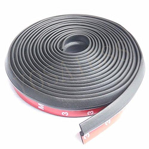 YOSA Z type 3M adhesive car rubber seal Sound Insulation , car door sealing strip weatherstrip edge trim noise insulation (Weatherstrip 3m compare prices)