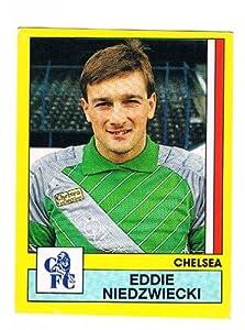 No.56 Eddie Niedzwiecki of Chelsea - Footbal 87 - Panini - English & Scottish Leagues