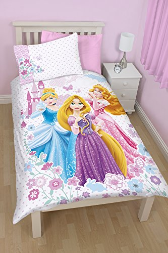 Disney Princess Set Copripiumino, Multicolore