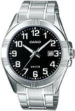 CASIO MTP-1308D-1BVEF - Reloj de caballero de cuarzo, correa de acero inoxidable color varios colores
