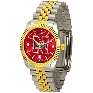 NCAA Nebraska Cornhuskers Ladies Executive AnoChrome Watch by SunTime
