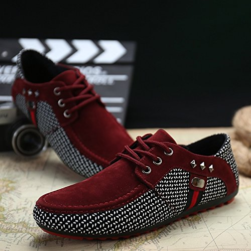 2015 New Men Korean Breathable Peas Shoes British Fashion Tide Male Shoes,Tesco-Monopoly (Monopoly British compare prices)