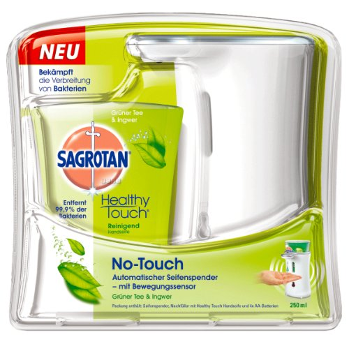 Seife Sagrotan Healthy Touch Grüner Tee & Ingwer 250 ml
