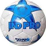 Indpro Unisex Seven Star Football 5 White Blue