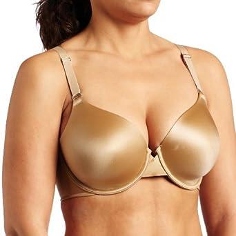 Maidenform Women's Pure Genius Extra Coverage Tailored Bra, Body Beige, 34B