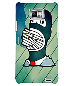 PrintDhaba Cartoon D-3453 Back Case Cover for SAMSUNG GALAXY S2 (Multi-Coloured)