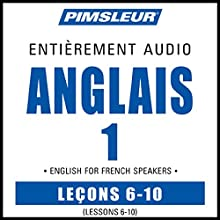 ESL French Phase 1, Unit 06-10: Learn to Speak and Understand English as a Second Language with Pimsleur Language Programs | Livre audio Auteur(s) :  Pimsleur Narrateur(s) :  Pimsleur