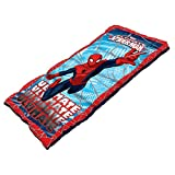 Spiderman Youth Sleeping Bag with 2.0-Pound Fill, 28 x 56-Inch