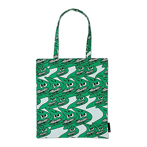 WRONG FOR HAY Tote Bag Tragetasche, grün 37x42cm Design: Bernhard Wilhelm