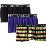 Diesel Homme Divine 3 Pack Trunks, Multicolore
