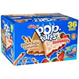 Kellogg's Pop-Tarts Variety Pack - 36 Pastries (4.14 lbs)