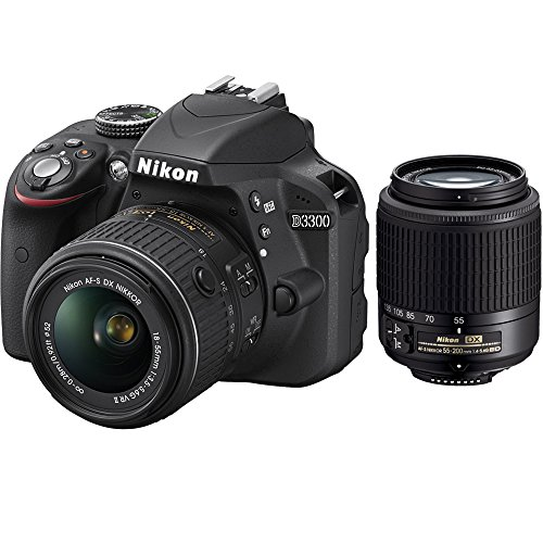Lowest Price! Nikon D3300 24.2 MP CMOS Digital SLR with AF-S DX NIKKOR 18-55mm f/3.5-5.6G VR II Zoom...