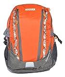 Roshan Nylon Orange Unisex Laptop Backpack (8367)