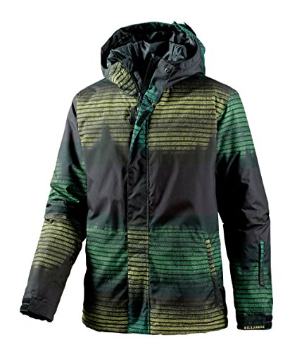 giacca-da-snowboard-da-uomo-billabong-verde-nero-l