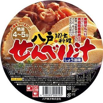 八戸東洋の八戸せんべい汁カップしょうゆ味(3個入り)