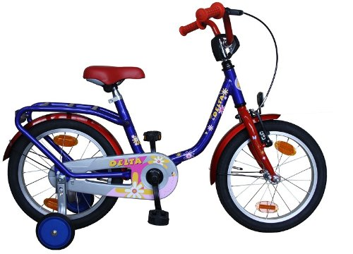 16 zoll kinderfahrrad bmx mit st tzr der und v brakes in. Black Bedroom Furniture Sets. Home Design Ideas