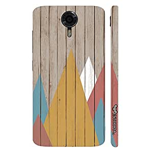 Micromax Canvas Xpress 2 Rendez-wood designer mobile hard shell case by Enthopia