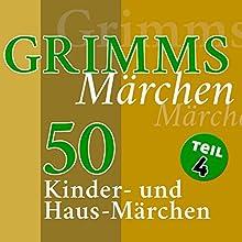 50 Kinder- und Haus-Märchen (Grimms Märchen 4) (       ungekürzt) von Brüder Grimm Gesprochen von: Jürgen Fritsche