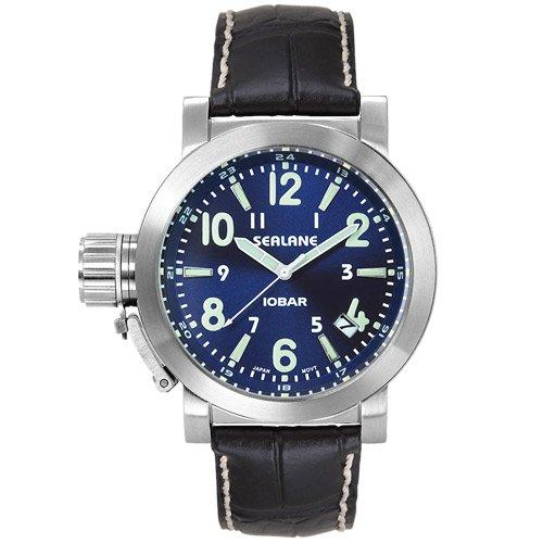 [シーレーン]SEALANE 腕時計 10BAR N夜光 SE43-LBL メンズ