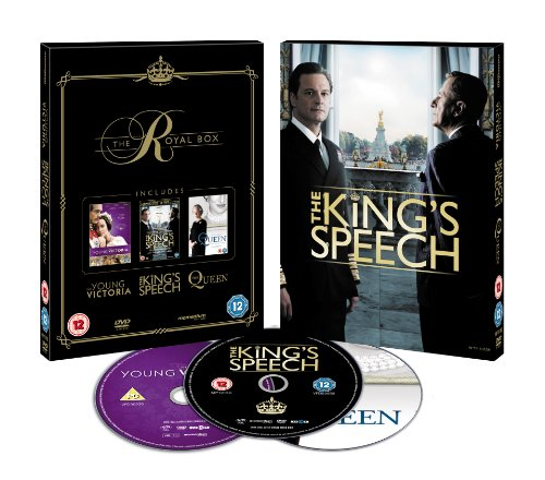The Royal Box (The King's Speech/ The Queen/ Young Victoria) [DVD]