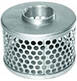 "AMT Pump C230-90 Suction Strainer, Steel, 2"" with 3/8"" Openings"