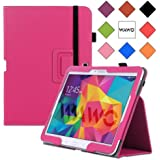 WAWO Samsung Galaxy Tab 4 10.1 Inch Tablet Smart Cover Creative Folio Case (Pink)