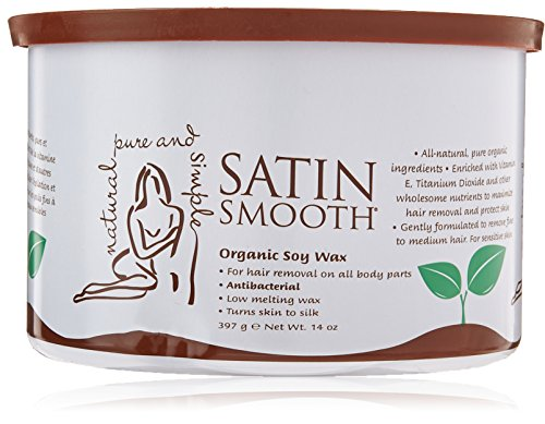 Satin Smooth Organic Soy Wax, 14 Ounce (Smooth Hair Wax compare prices)
