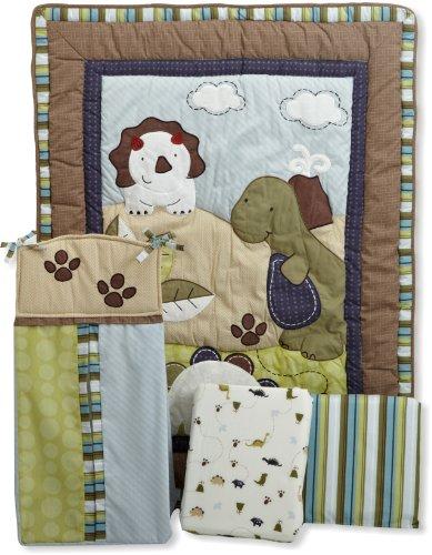 Coco & Company Chomp N Stomp 4 Piece Crib Bedding Set front-67187