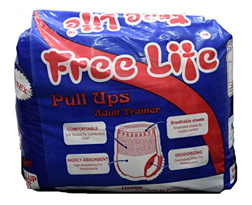FREE LIFE FREE LIFE Adult Diapers Large Pack of 10 New