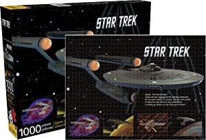 Aquarius Star Trek- Enterprise Puzzle