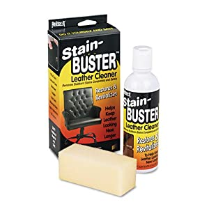 Master Caster : Leather Cleaner with Synthetic Sponge, Bottle -:- Sold as 2 Packs of - 1 - / - Total of 2 Each